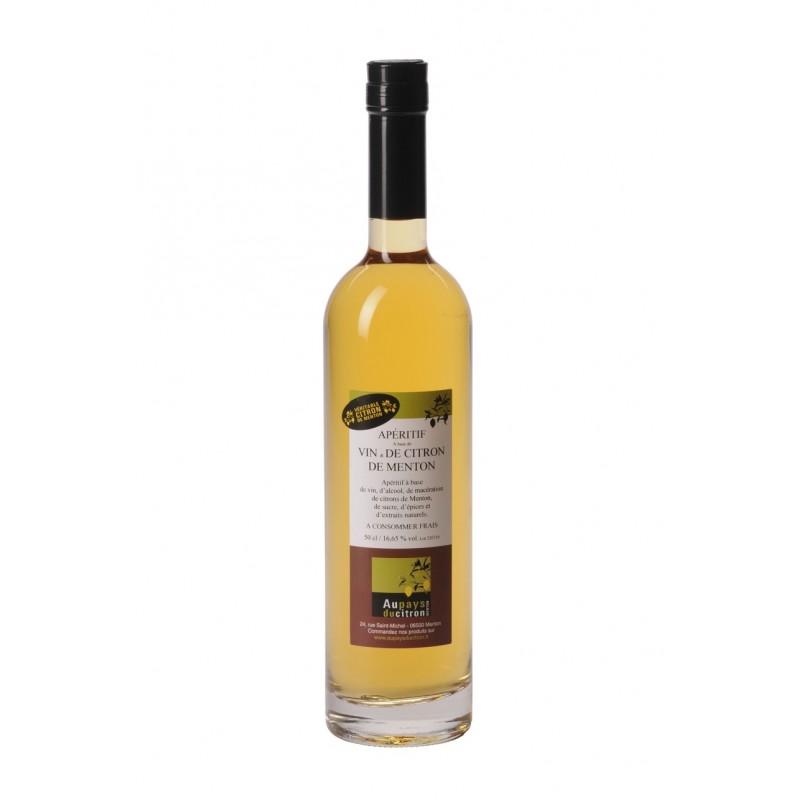 Vin de citron 50 cl