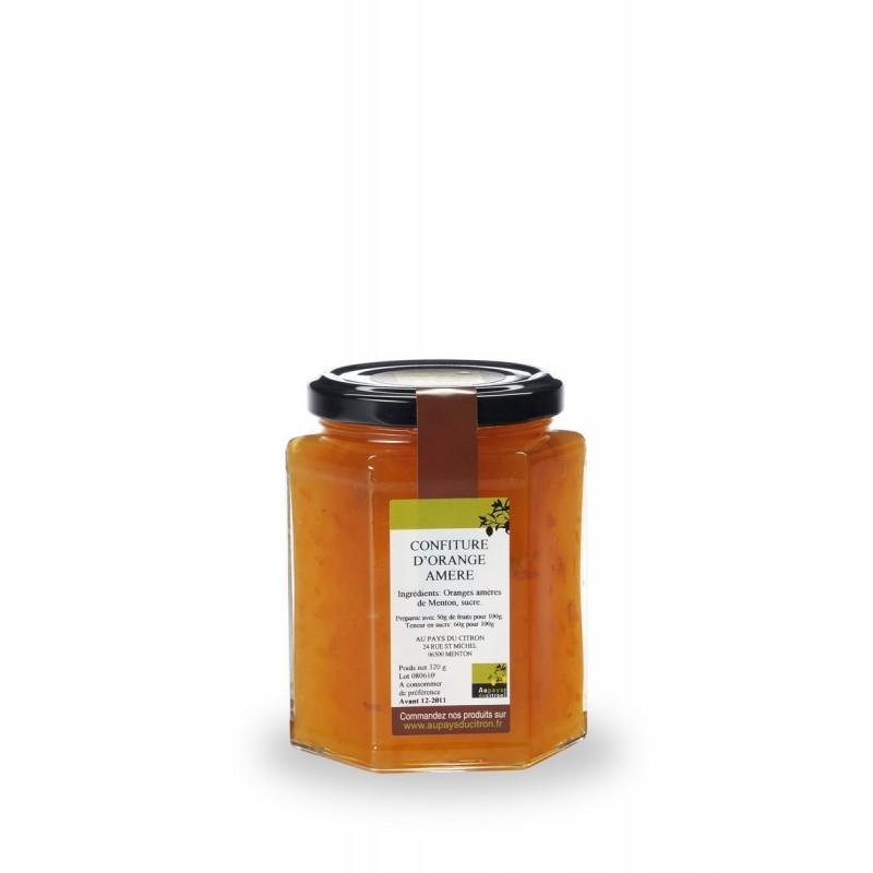 Confiture d'oranges ameres 320 g