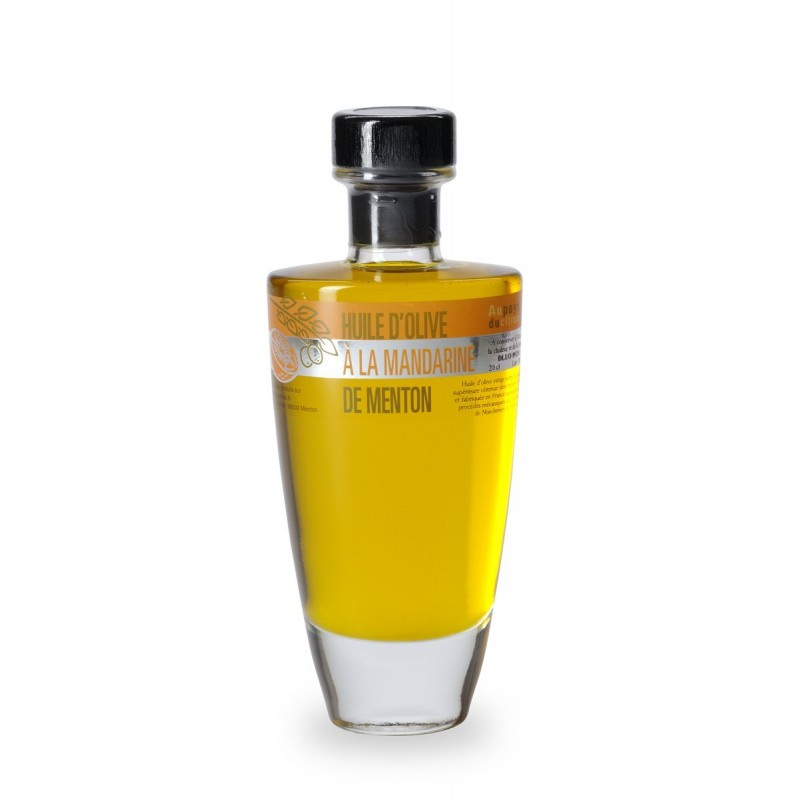 Huile d'olives à la mandarine 20 cl