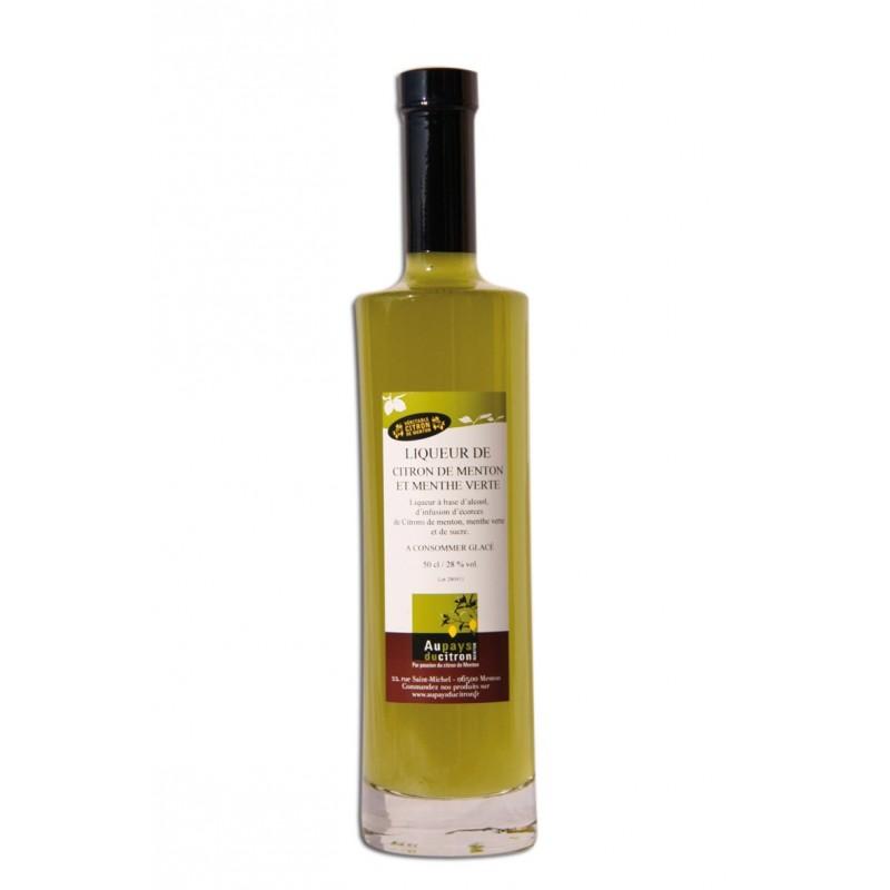 Le Limoncello « Citron de Menton & Menthe »