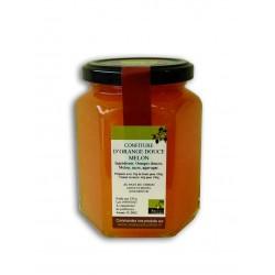 Confiture d'oranges douces et Melon 320g