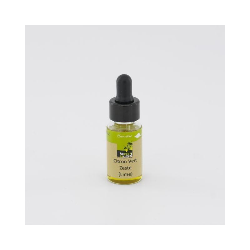 Huile essentielle citron vert zeste (lime) 5 ml
