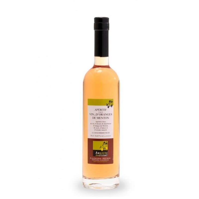 Vin d'oranges 50 cl