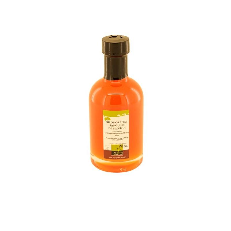 sirop d'orange sanguine 20cl