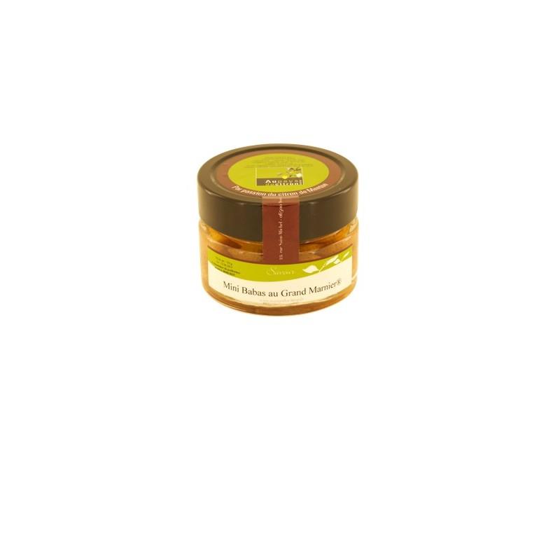 Mini babas au Grand Marnier 150 ml