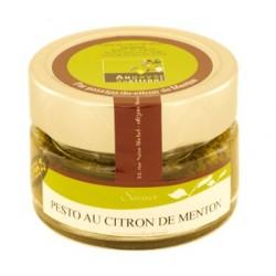 Pesto au citron de Menton