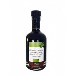 Elixir balsamique de Modène et citron de Menton