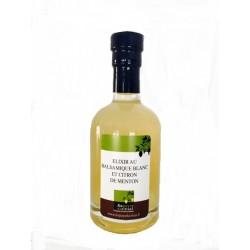Elixir au balsamique blanc et citron de Menton
