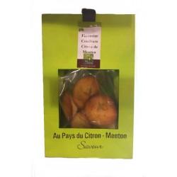 Financiers à la confiture de citron de Menton