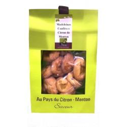 Madeleines confiture de citron de Menton