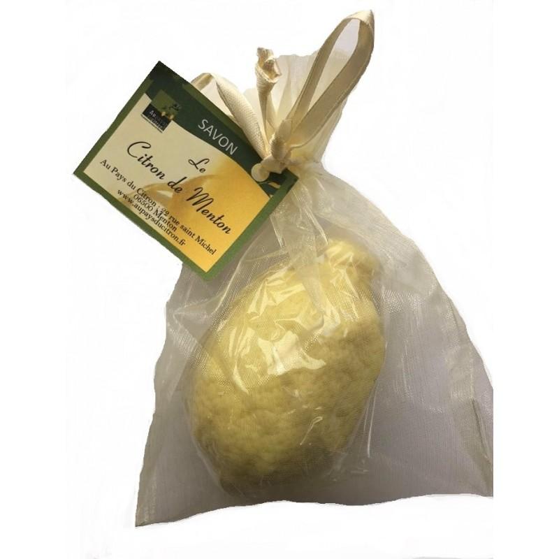 savon hydratant forme citron de Menton